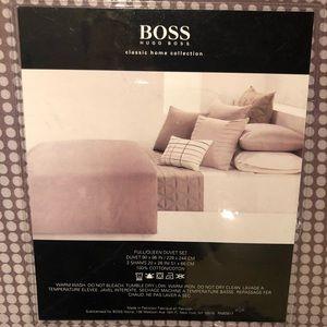 Boss Hugo Boss Rhythmic Dots Neutral Duvet 3pc Set